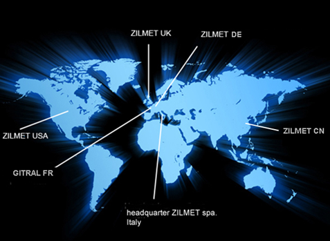 Zilmet worldwide